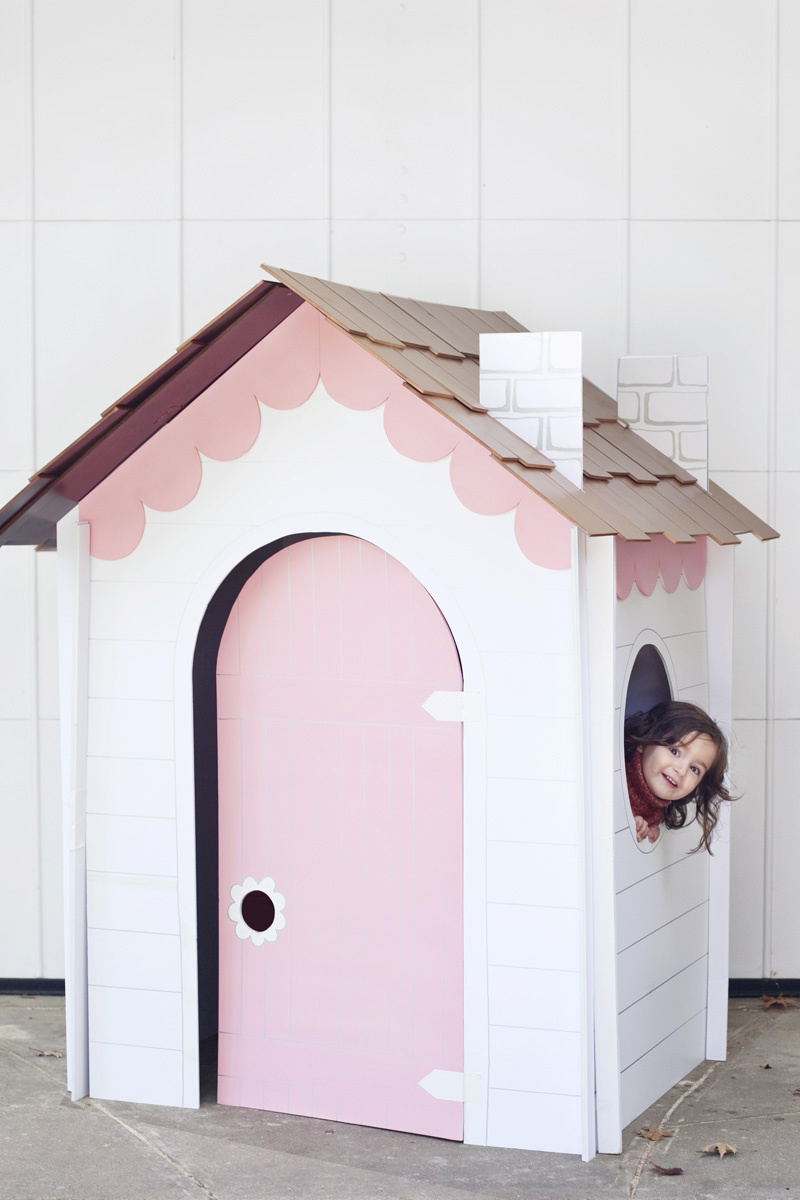 Diy collapsible play house DIY Entertaining Ideas To Decorate Your Kids' Room For Special Feeling