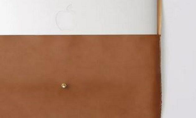 Diy leather laptop case