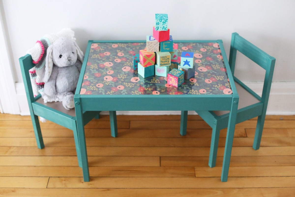 Diy toddler table DIY Entertaining Ideas To Decorate Your Kids' Room For Special Feeling