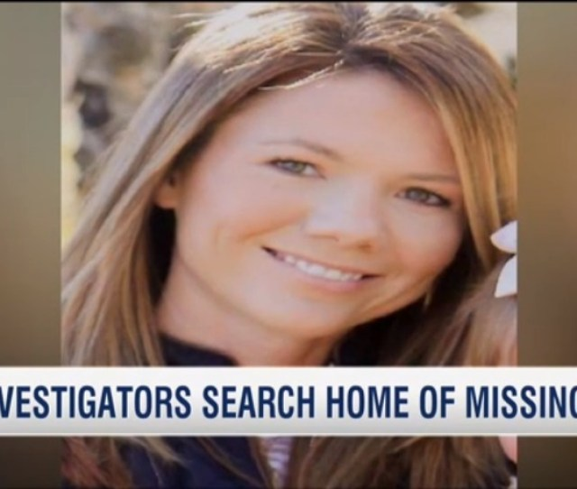 Video Investigators Search Home Of Missing Mom