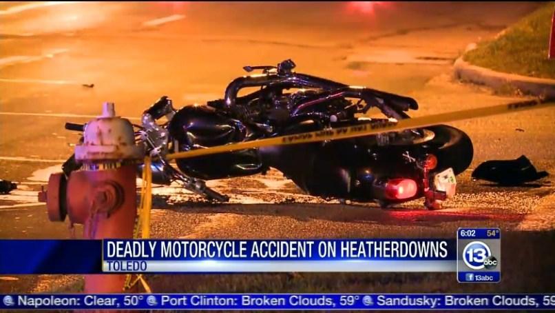 Toledo Man Killed In Motorcycle