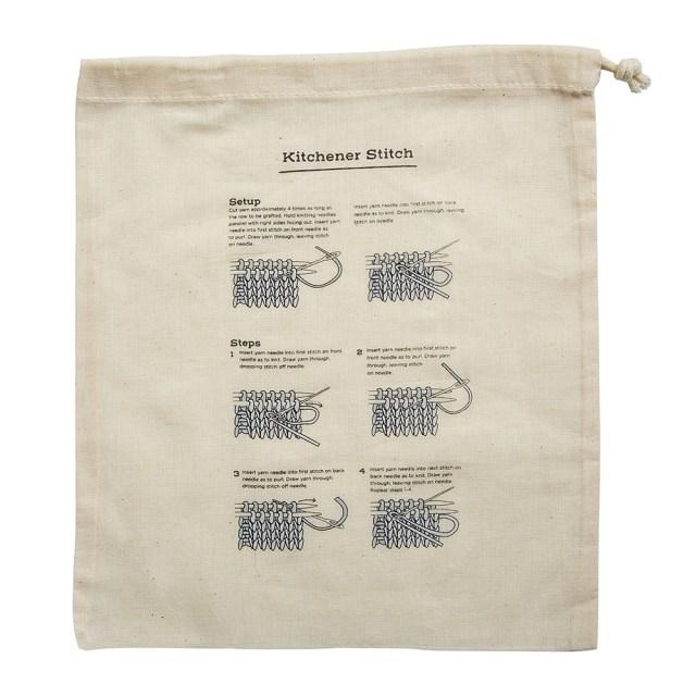 Kitchner Stitch Project Bag