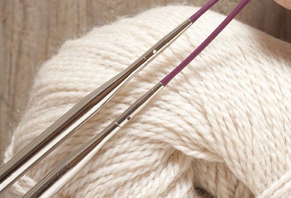 Options Interchangeable NickelPlated Circular Knitting Needle Set