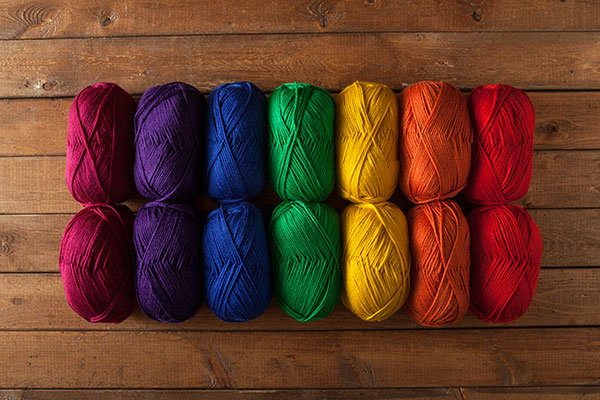 Rainbow Mighty Stitch Sampler