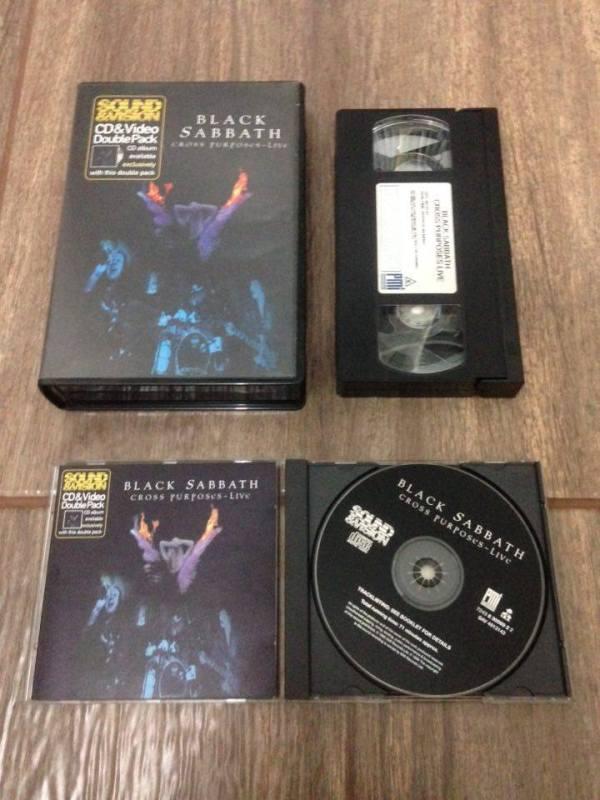 A rara versão original de Cross Purposes Live, do Black Sabbath