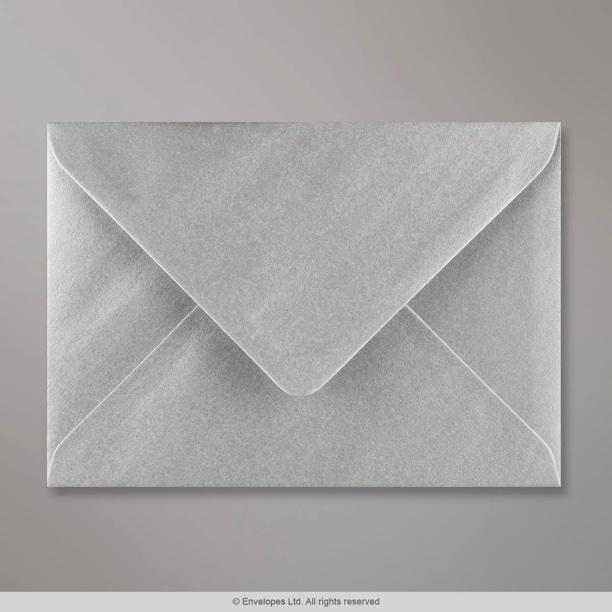 125x175 Mm Metallic Silver Envelope E05125 Simply