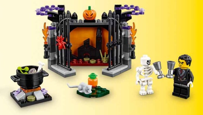 Upcoming LEGO Holiday Sets   Brick Brains 40260     All Hallow s Eve