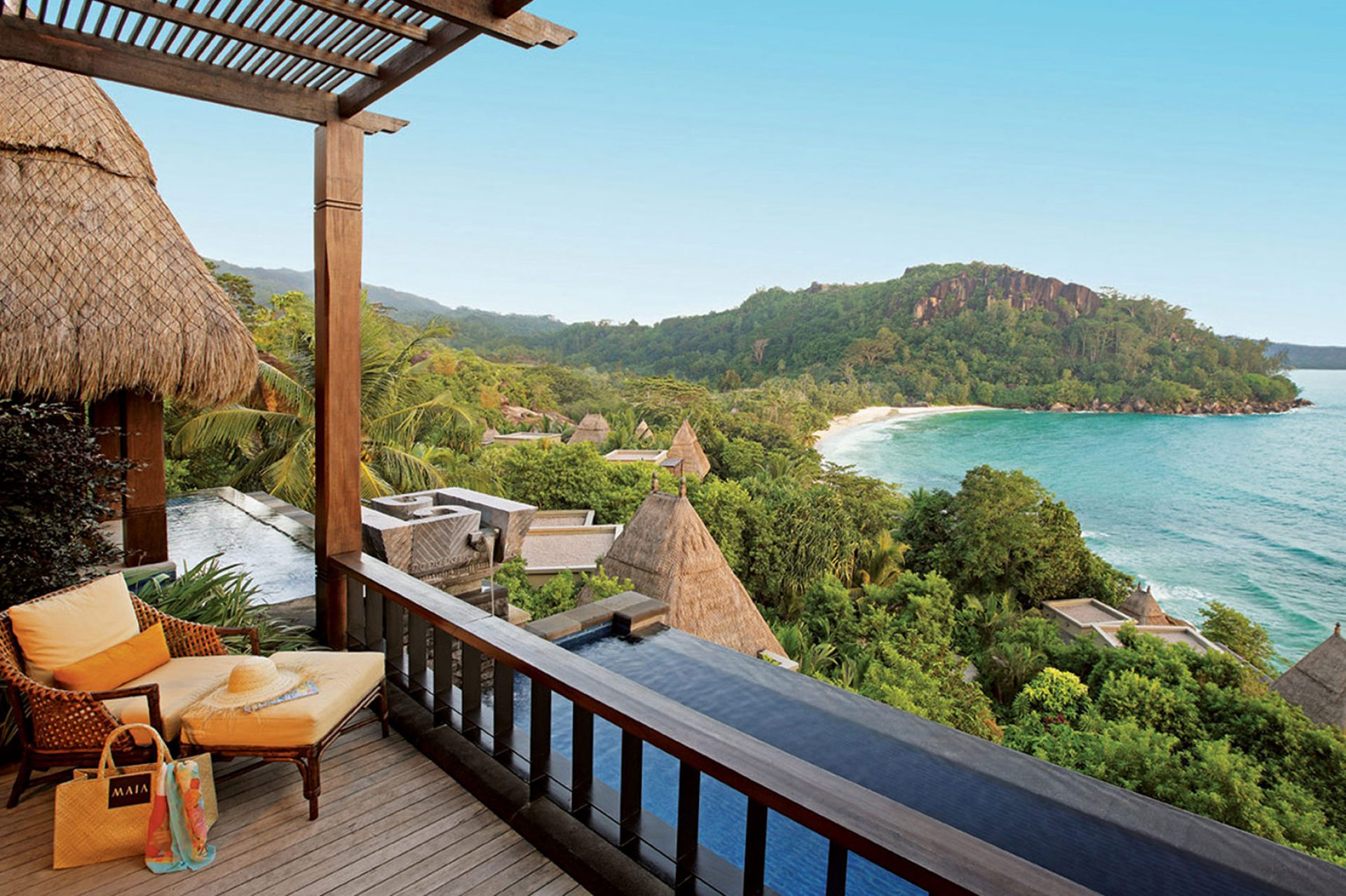 Image result for Maia Luxury Resort and Spa, Seychelles - Rare palms