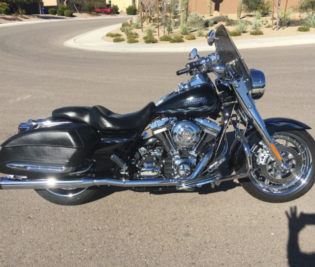 Photo Of A 2007 Harley Davidson Flhrse3 Screamin Eagle Road King