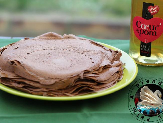 crepes sans gluten sarrasin cacao