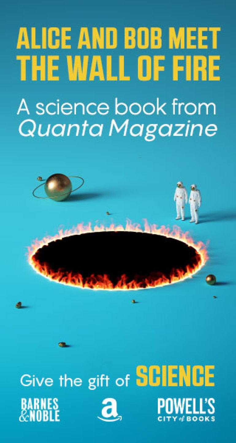 Alice and Bob Meet the Wall of Fire - The Biggest Ideas in Science from Quanta – Available now!