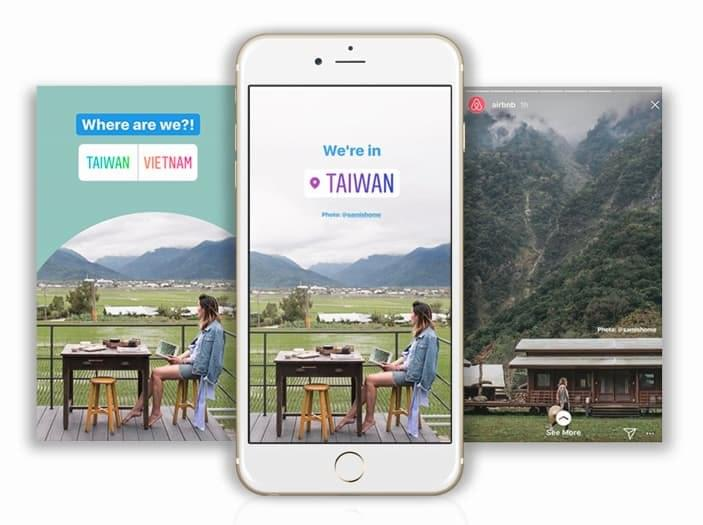 Instagram Stories for travel being put to good use by Airbnb
