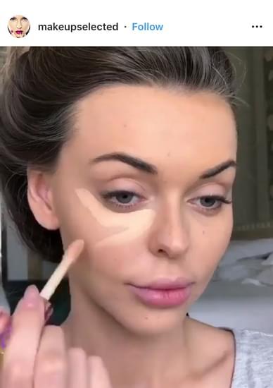 @makeupselected tutorial Instagram posts example