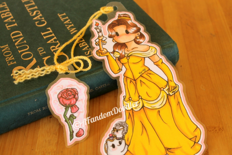 Belle Disney Princess Inspired Items From Etsy