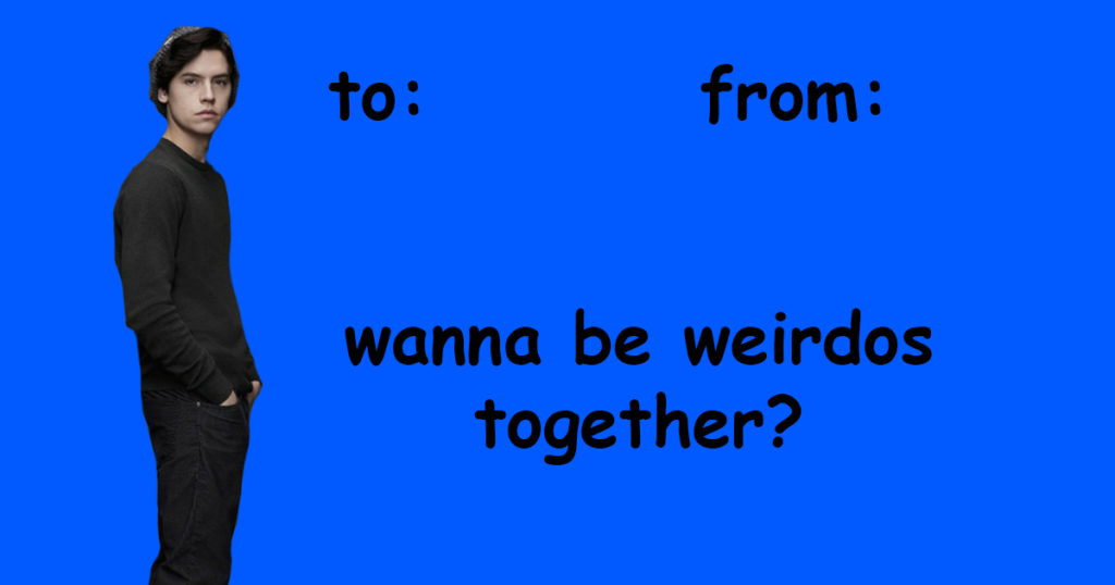 Funny Riverdale Inspired Valentines Day Greeting Cards