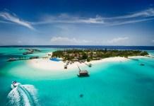 Beautiful tropical island of Maldives