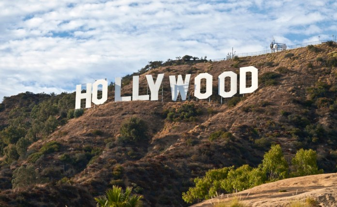 LA's Hollywood Sign in Griffith Park.