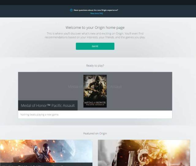 See The Latest Games Or Articles Your Friends List And More On The Origin