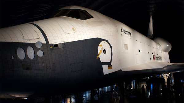 Tested Visits the Space Shuttle Enterprise - Tested
