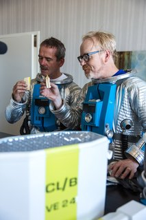 Photo Gallery: Adam Incognito with Astronaut Chris ...