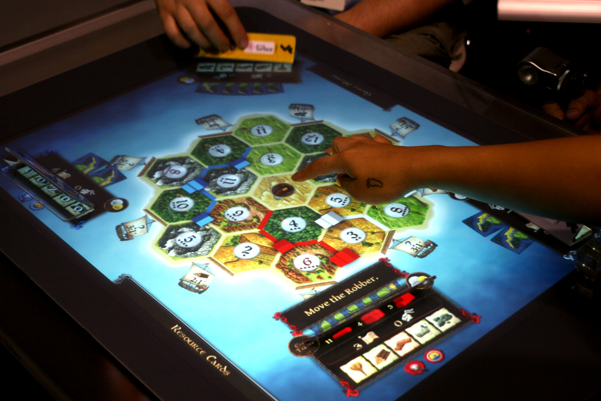 Hands On With The Settlers Of Catan On Microsoft Surface