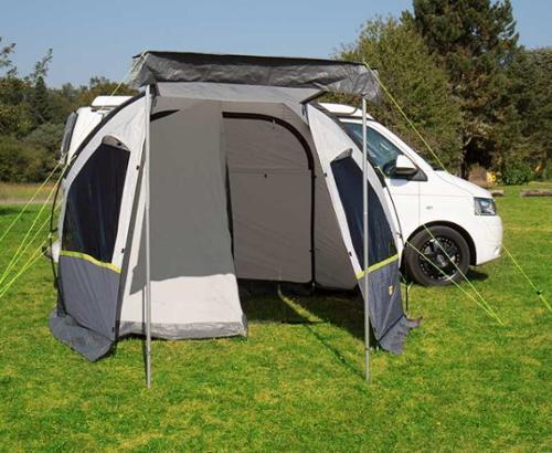 auvent camping car et fourgon tente d interieur pour tente tunnel tour compact