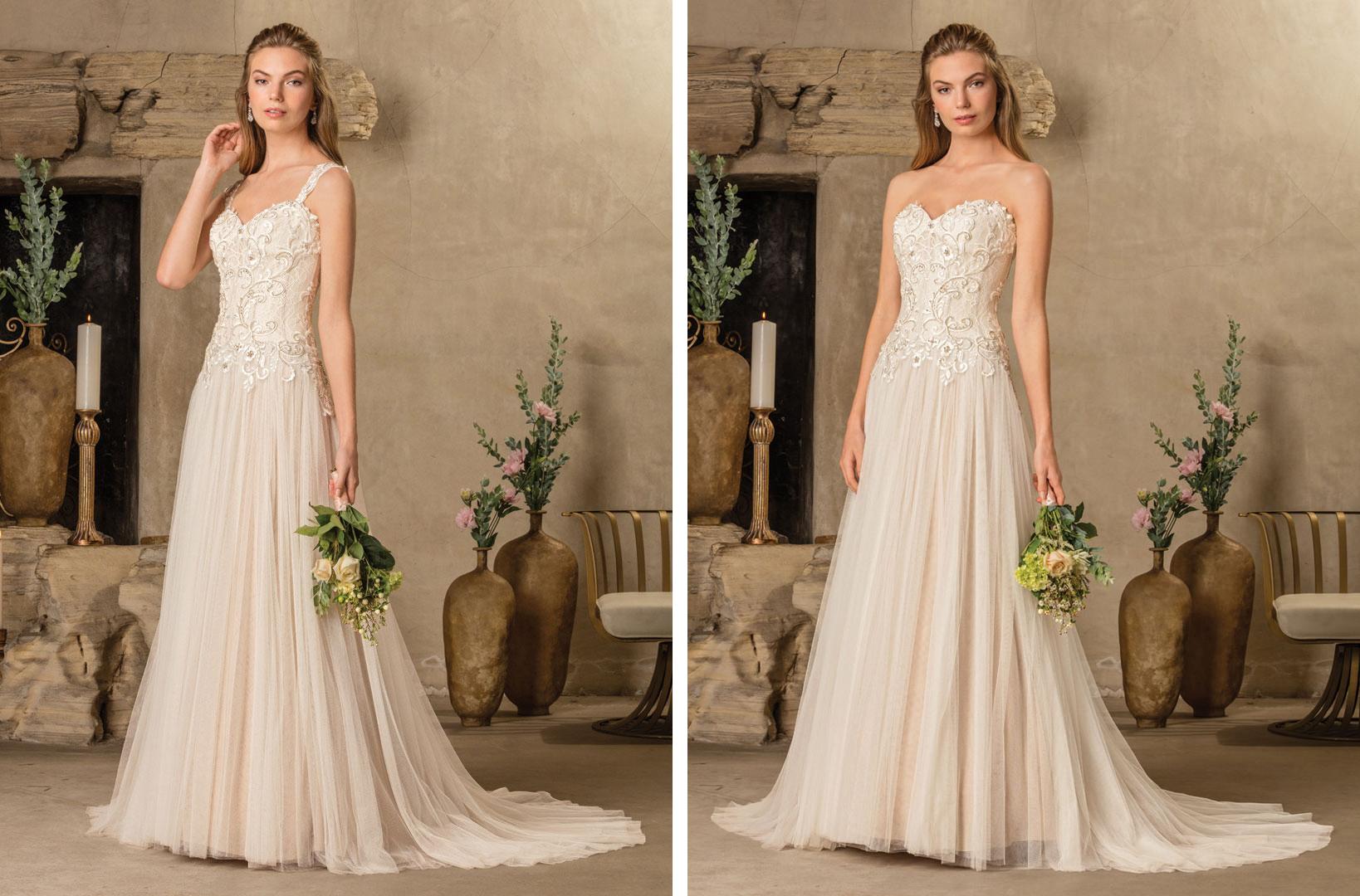 Top Colored Wedding Dresses By Casablanca Bridal / Blog