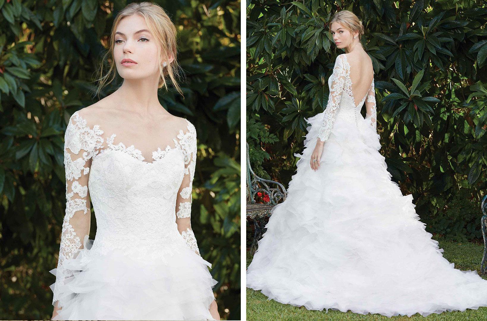 Top Ruffled Wedding Dresses By Casablanca Bridal / Blog