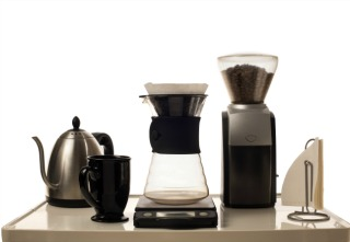 inline coffee brewing