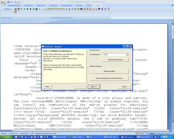 Translating WordPress XLIFF Files in MetaTexis - WPML