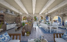 22+ Classy Greek Family Kitchen That Will Make Your Home Shiny