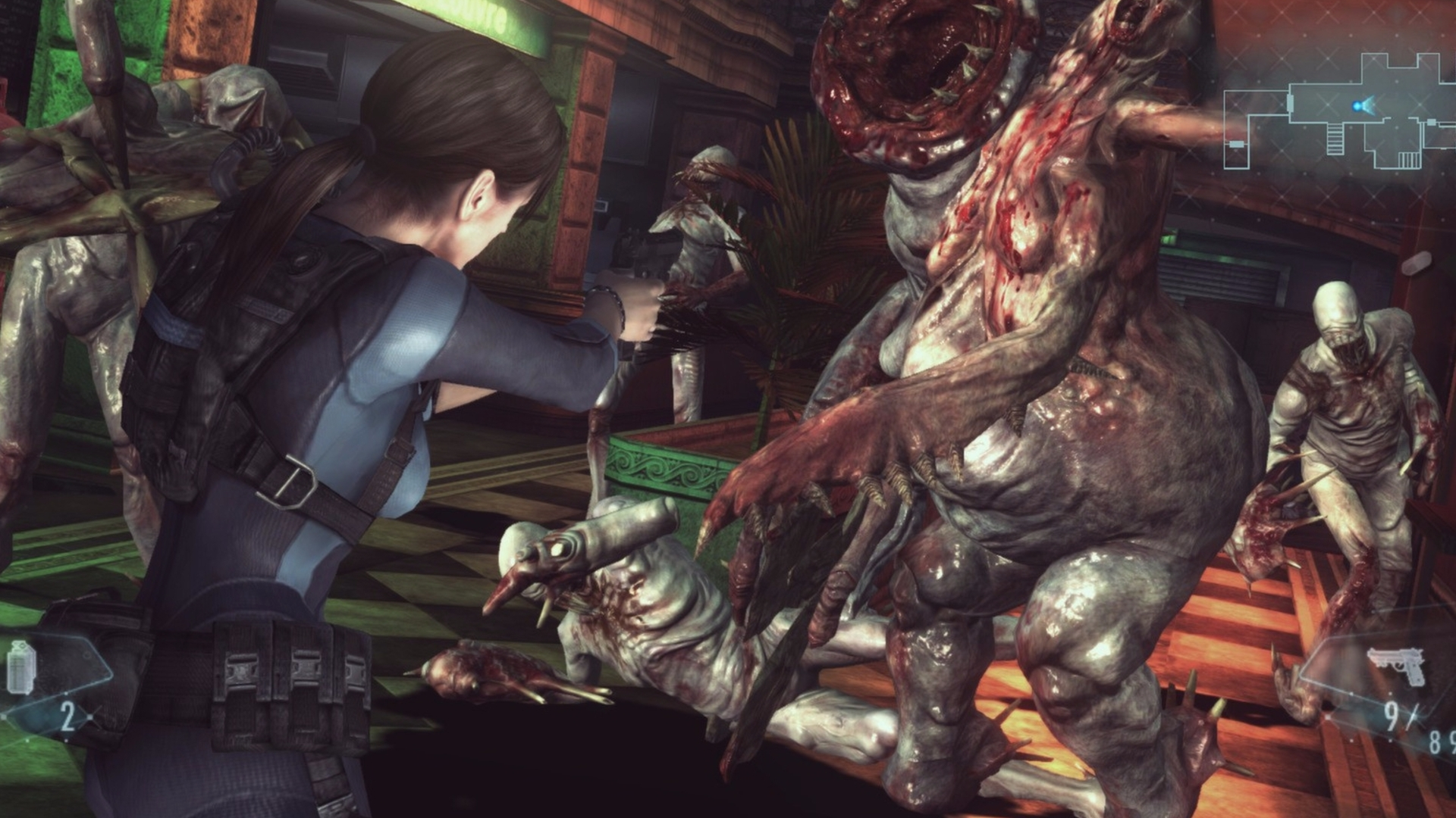 Resident Evil Revelations Raid Mode Characters Weapons