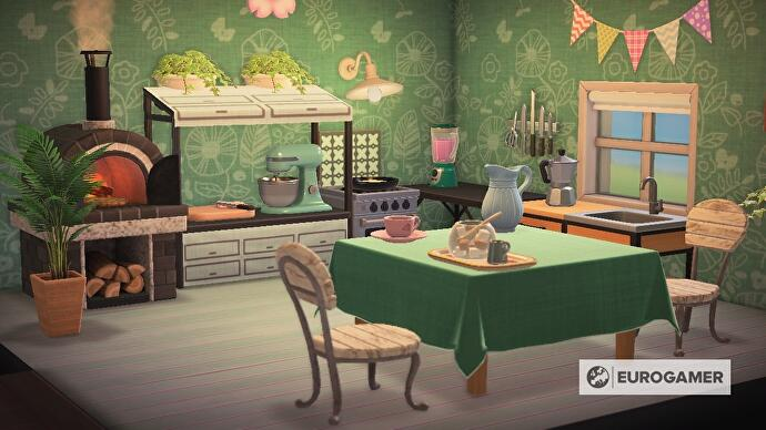 Animal Crossing kitchen furniture: How to design a kitchen ... on Ironwood Kitchen Animal Crossing  id=65915