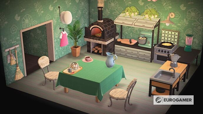 Animal Crossing kitchen furniture: How to design a kitchen ... on Ironwood Kitchen Animal Crossing  id=86966