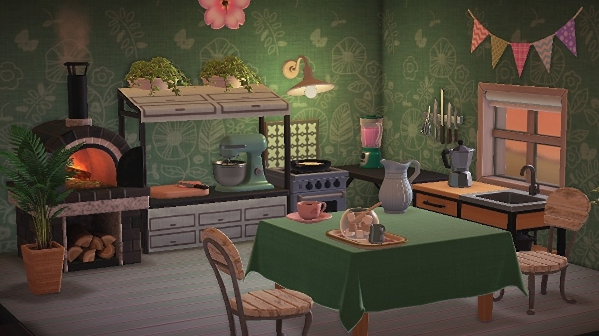 Animal Crossing kitchen furniture: How to design a kitchen ... on Ironwood Kitchen Animal Crossing  id=98318