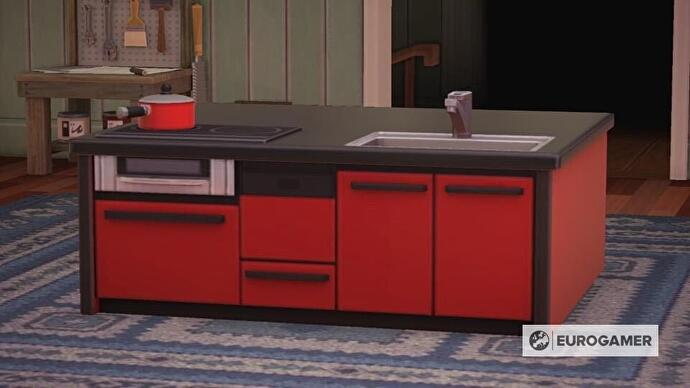 Animal Crossing kitchen furniture: How to design a kitchen ... on Ironwood Kitchen Animal Crossing  id=12776