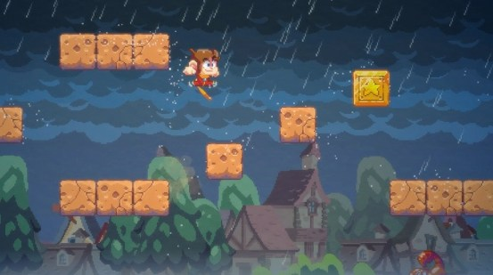Alex Kidd in the remake of Miracle World got a release date in June • Eurogamer.net