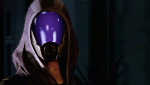 Mass Effect Legendary Edition changes Tali's controversial cabin photo