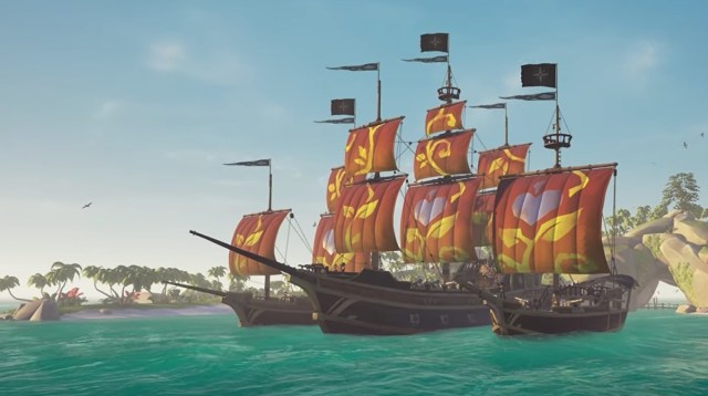 Sea of Thieves' latest charity sails are raising money for No Kid Hungry 2