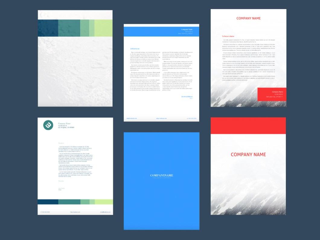 free letterhead design software inviletter co