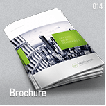 Corporate Business Brochure 16 pages A4 + Letter - 11