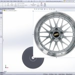 Tutorial How To Model A Bbs Lm Wheel In Solidworks And Show Design Intent Grabcad Tutorials