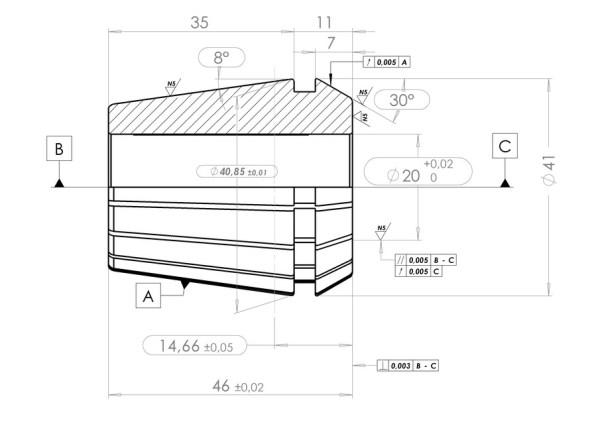 DIN_6499_ER40 | 3D CAD Model Library | GrabCAD