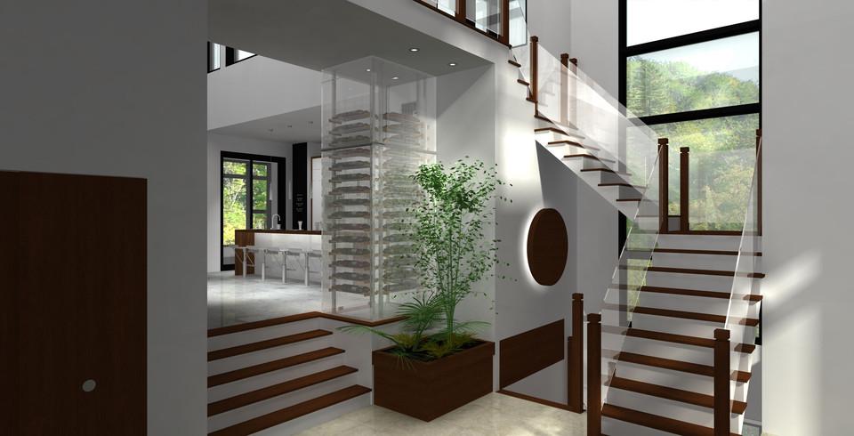 Inside Of 3D House 3D CAD Model Library GrabCAD