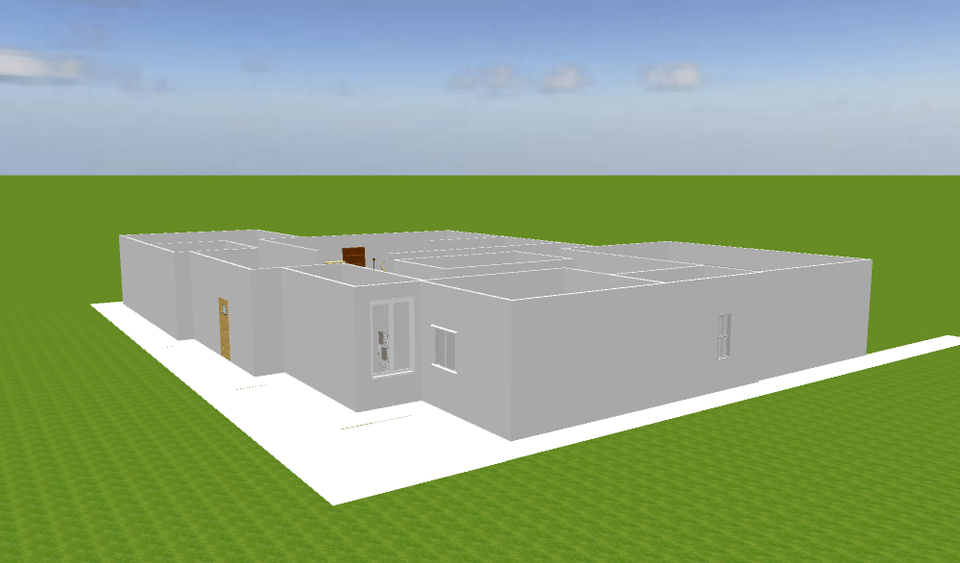 Unlimited · unlimited cloud storage · ios & android mobile model viewer. The Perfect 1floor House Sweet Home 3d 3d Cad Model Library Grabcad