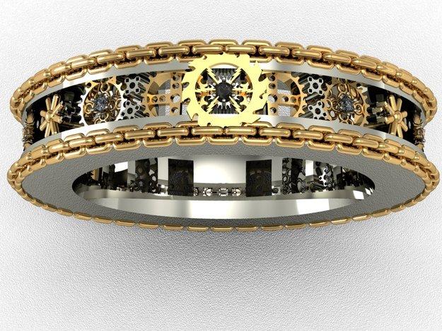 Gear Ring 3D CAD Model GrabCAD