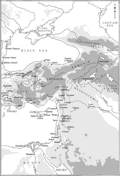 Map 7: Roman Empire, Eastern Portion