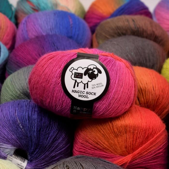 Magic Sock Wool Yarn Happy Sheep