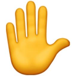 Image result for hand emoji