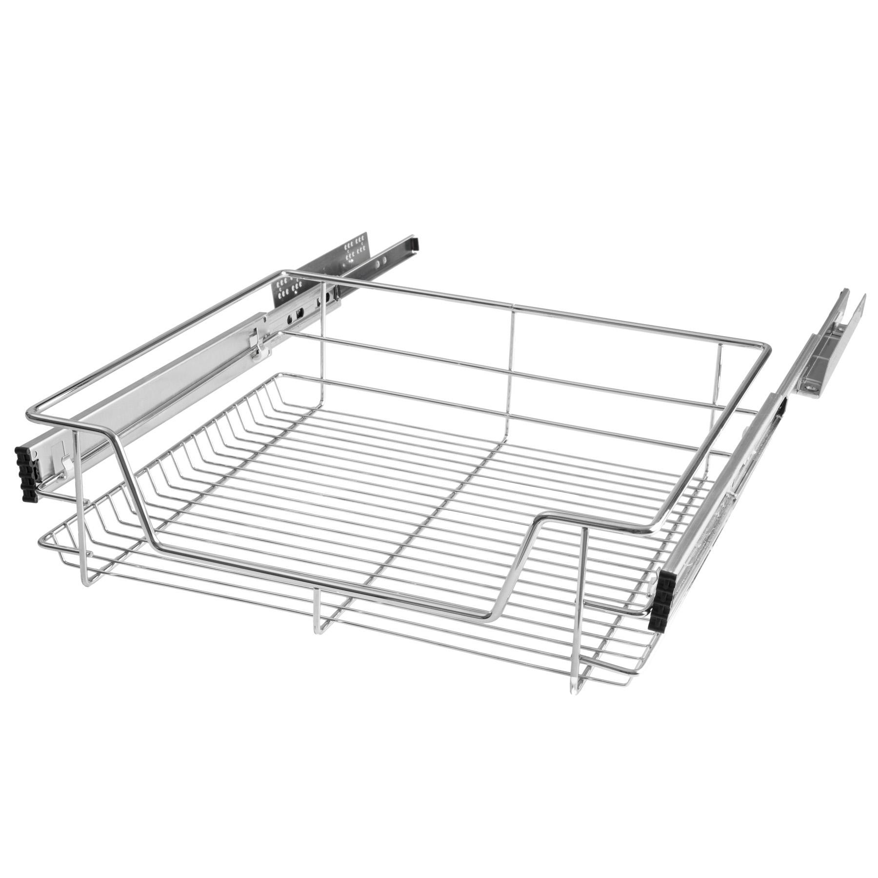 Kitchen Wire Drawer Baskets Pullout Bedroom Drawer Storage